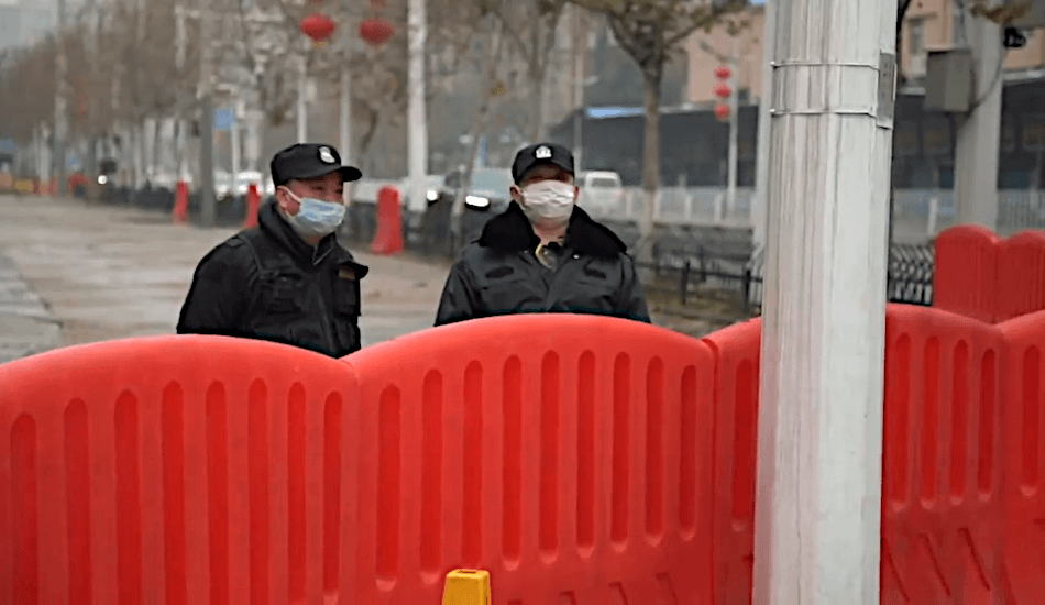 The consequences of China's harsh measures to halt the virus — restricting the movement of about 700 million people at one point. (Image: Screenshot / YouTube)