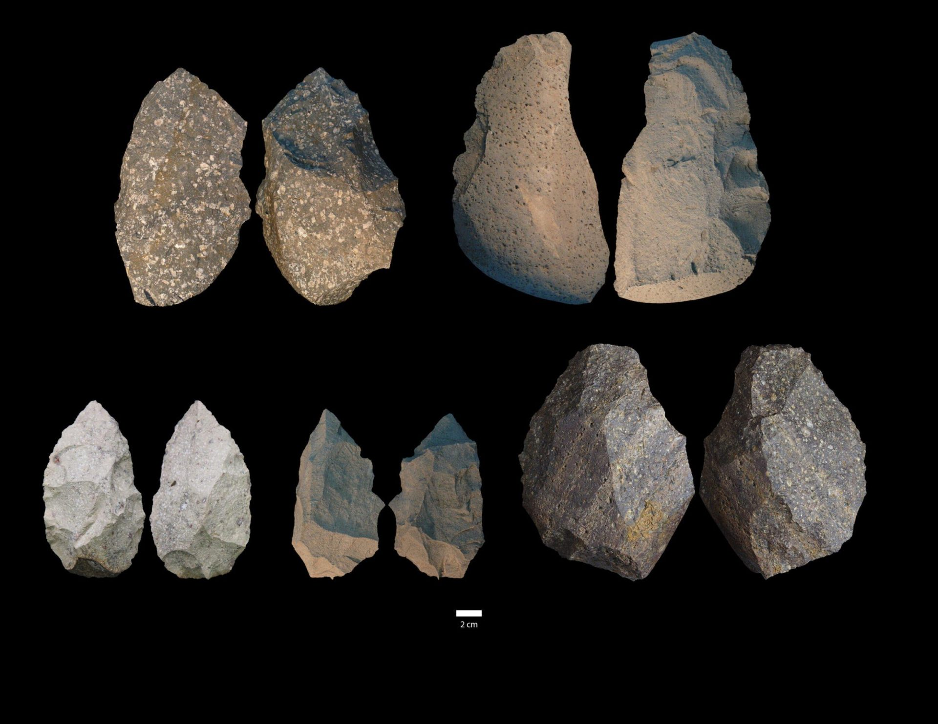 At the Gona study area in Ethiopia's Afar State, H. erectus used locally available stone cobbles to make their tools, which were accessed from nearby riverbeds. (Image: University of Michigan)
