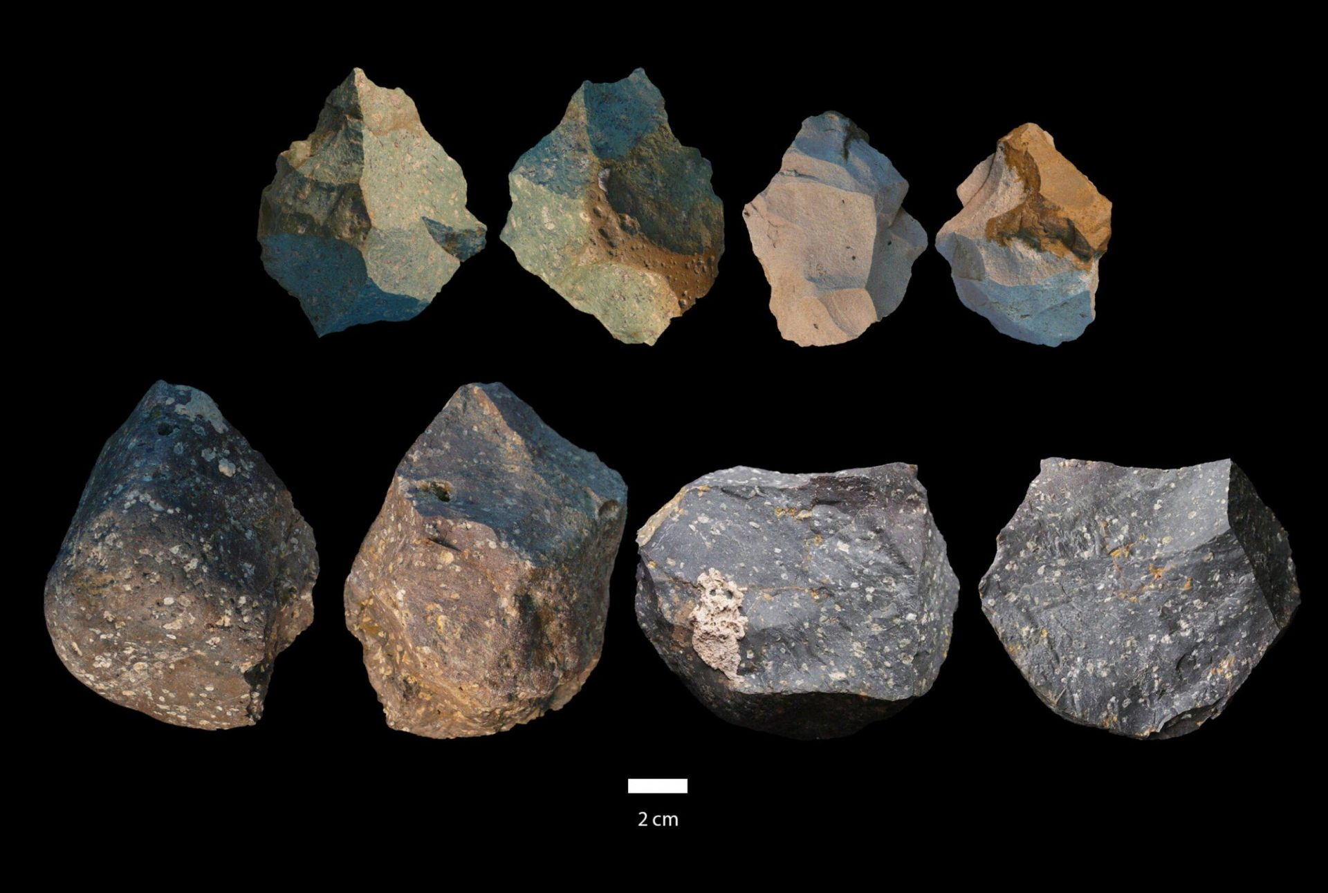 The evidence from Gona suggests a lengthy and concurrent use of both Oldowan and Acheulian technologies by a single long-lived species, H. erectus, the variable expression of which deserves continued research, according to the researchers. (Image: University of Michigan)