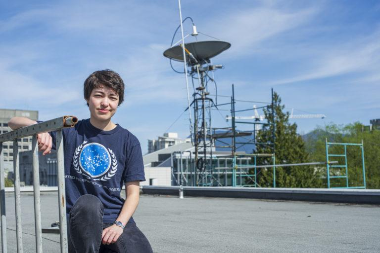 UBC astronomy student Michelle Kunimoto (Image: Michelle Kunimoto)