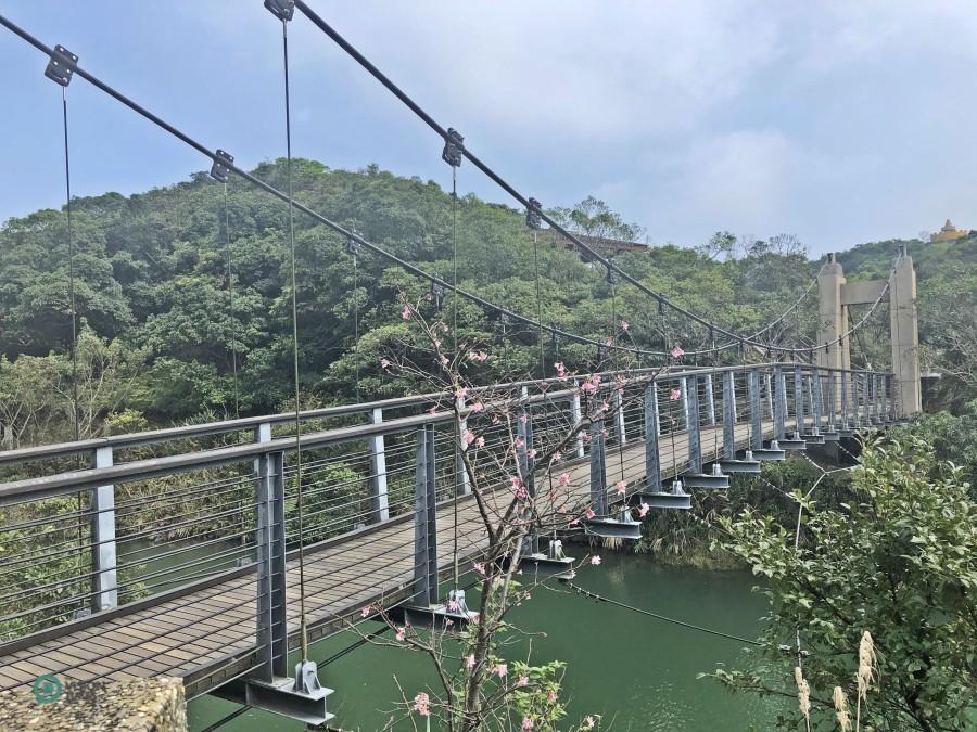 The Lover's Lake Suspension Bridge. (Image: Billy Shyu / Vision Times)