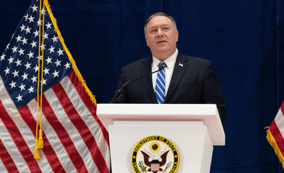 U.S. Secretary of State Mike Pompeo hit out at the Chinese government for censorship policies. (Image: U.S. Department of State / CC0 1.0)