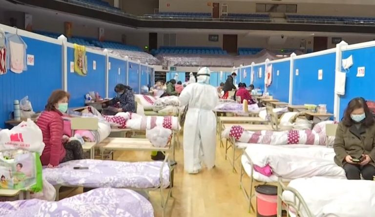 It looks like during the same time interval when the Chinese Communist Party (CCP) concealed the dangers of the virus, they were busy trying to corner the market in personal protective equipment. (Image: Screenshot / YouTube)