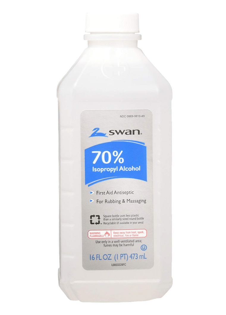 Hand sanitizers should contain at least 60 percent alcohol. (Image: Amazon)