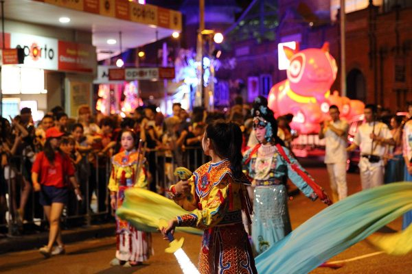 Chinese New Year celebrations in Sydney's Chinatown. (Image: Kenya Chan via Flickr CC BY-SA 2.0)