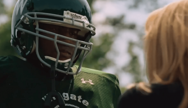 The Blind Side is based on the life of Michael Oher who's foster mother served as the inspiration for his football career. (Image: Screenshot / YouTube)