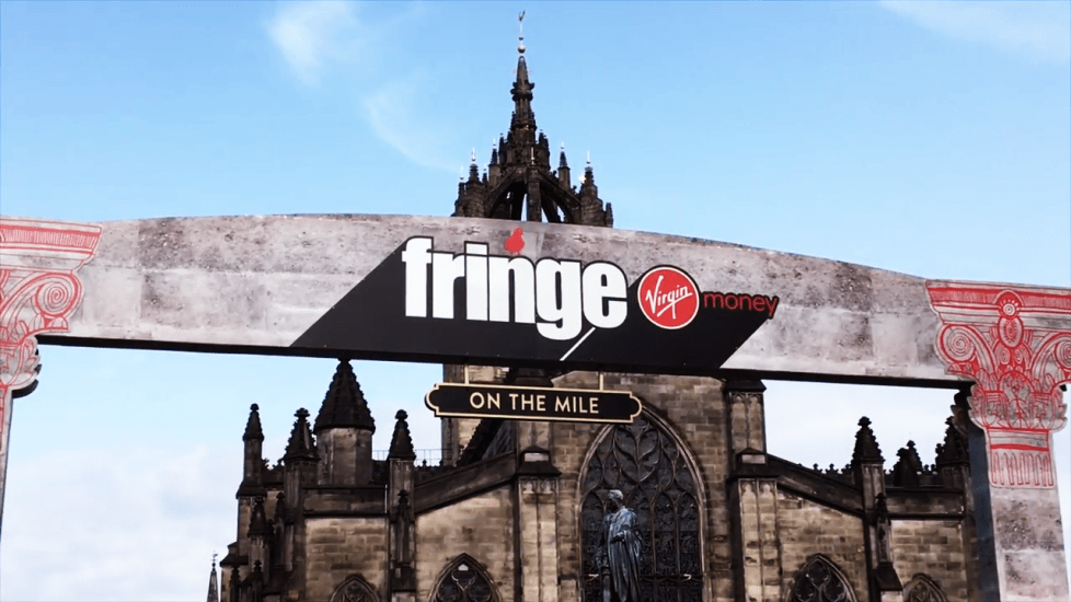 The Fringe Festival in Edinburg, Scotland, one of the biggest annual events in the city, was cancelled this year. (Image: Screenshot / YouTube)