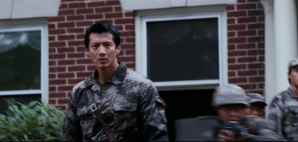 In 2012, after the CCP protested against the American war film: Red Dawn, causing MGM to spend US$1.0 million to change the cast in the film from Chinese into North Korean invaders. (Image: YouTube/Screenshot)
