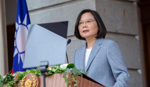 Tsai Ing-wen began her second term as the President of Taiwan by delivering a speech in which she outlined her plans for the island nation. (Image: 總統府 via flickr CC BY 2.0 )