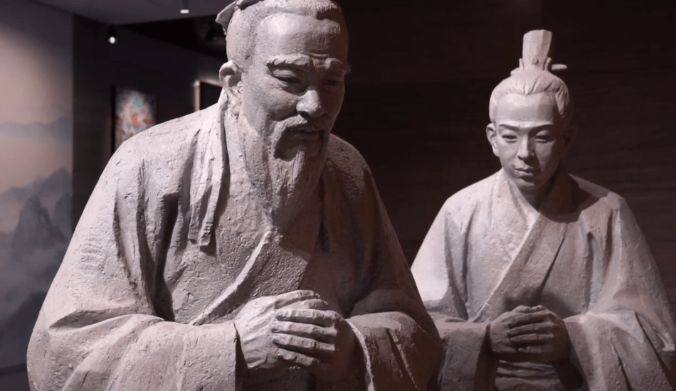 Yan Hui, the favorite disciple of Confucius, was smart, diligent in his studies, and could learn by analogy. (Image: Screenshot / YouTube)