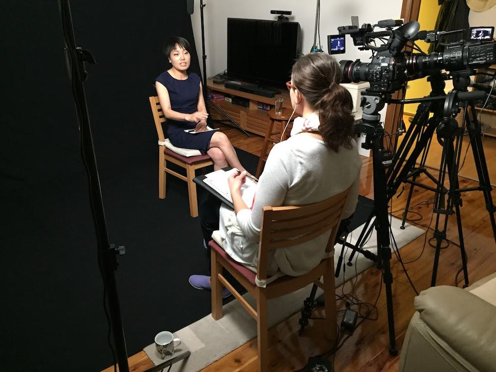 The making of Finding Courage involved interviewing former Chinese Communist officials and citizens who risked their lives to step forward to provide information. (Image courtesy of Swoop Films)