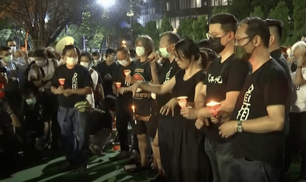 The CCP can use tanks to suppress people but it cannot squash the human heart. (Image: YouTube/Screenshot)