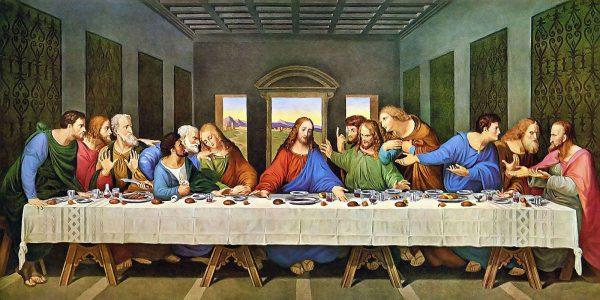The Last Supper by Leonardo da Vinci. (Image: Wikimedia / CC0 1.0)