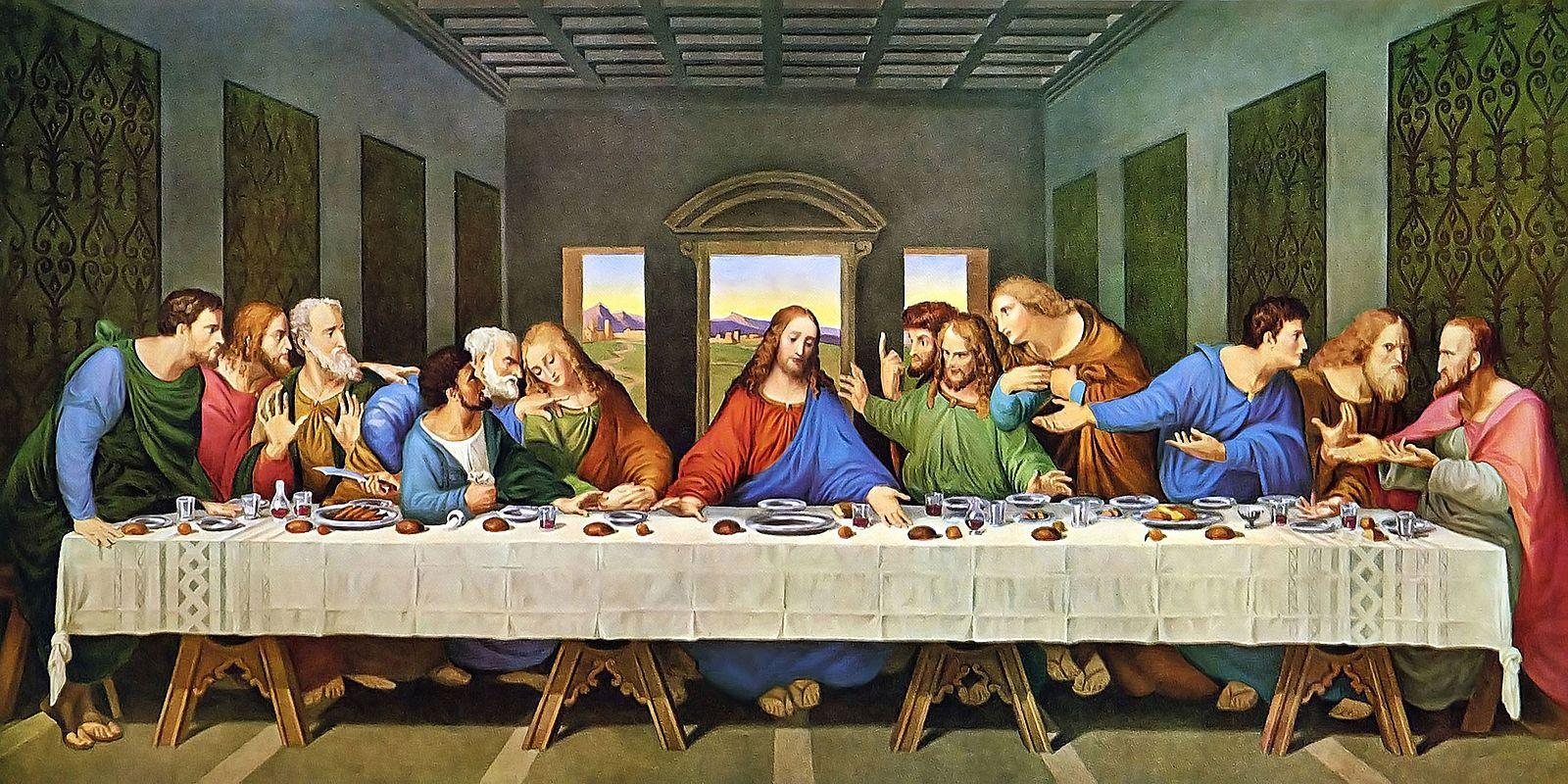 The Last Supper by Leonardo da Vinci. (Image: Wikimedia / CC0 1.0)