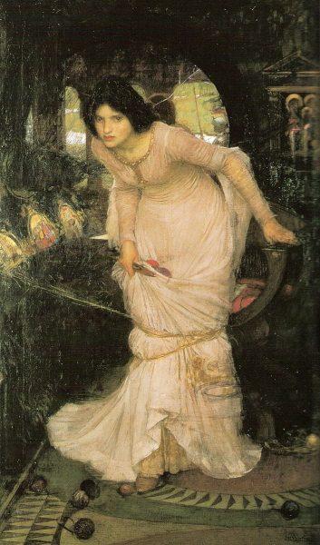 The Lady of Shallot by John William Waterhouse (1849–1917). (Image: Wikimedia / CC0 1.0)