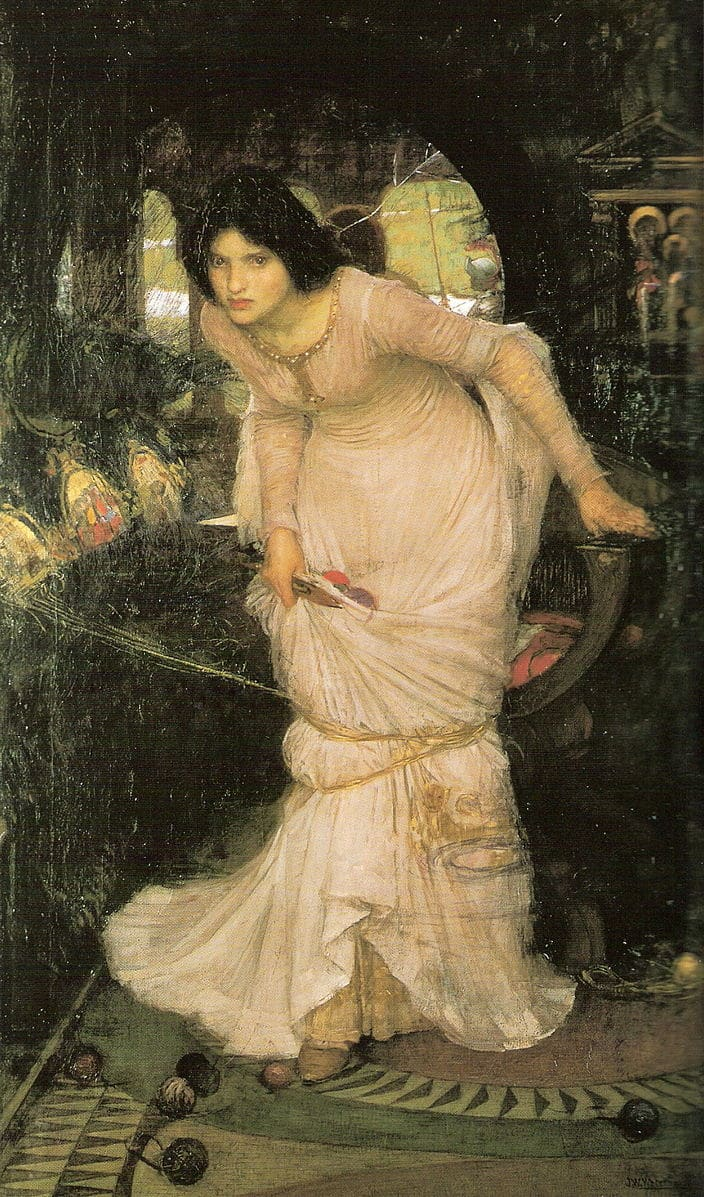 The Lady of Shallot by John William Waterhouse (1849–1917). (Image: Wikimedia / CC0 1.0)