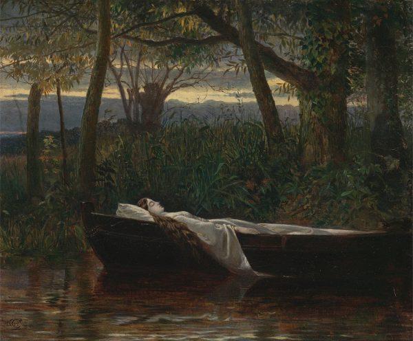 The Lady of Shallot by Walter Crane, (1845-1915). (Image: Wikimedia / CC0 1.0)