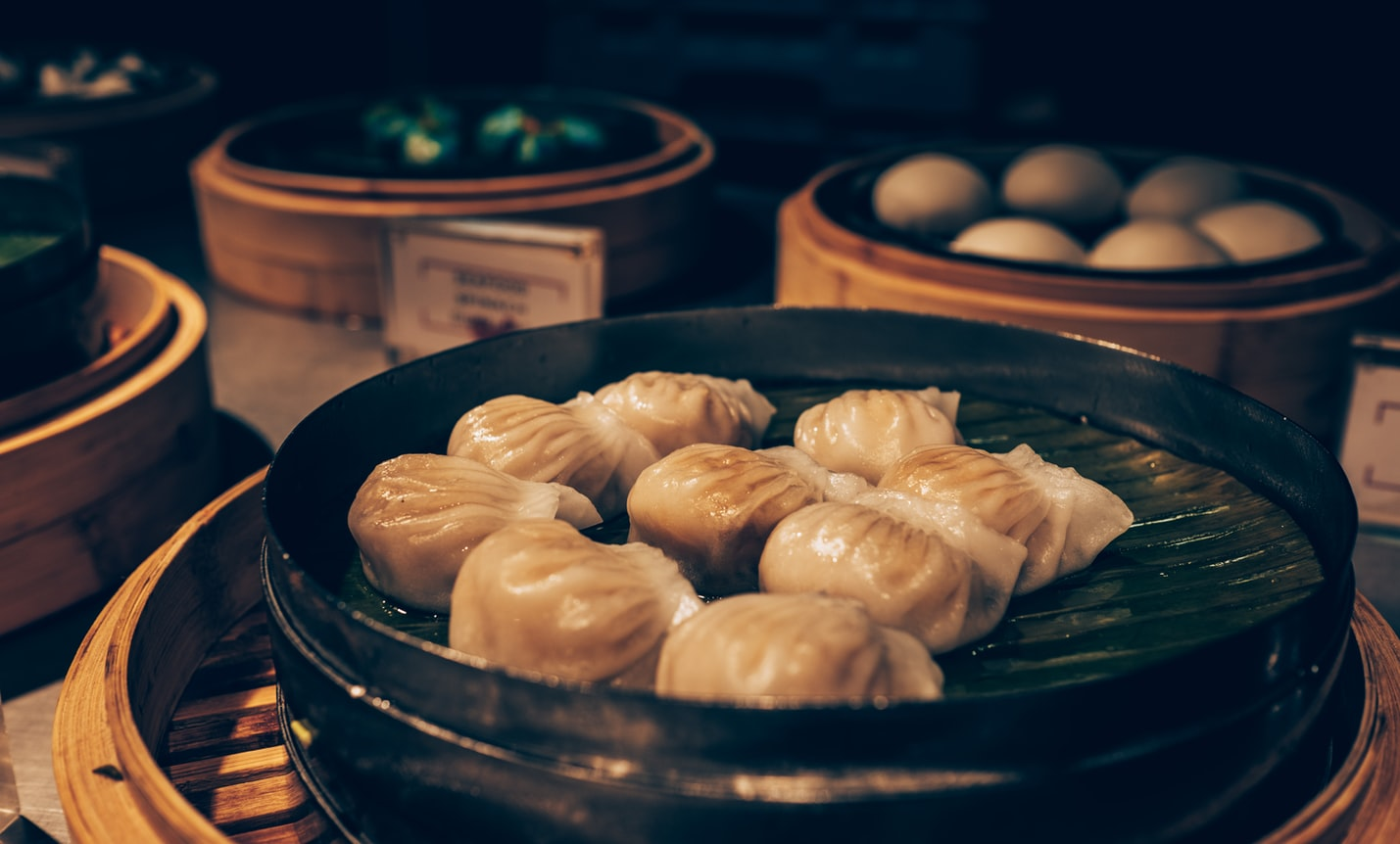 You choose your pick of meat to put inside the dumpling. (Image: Unsplash / CC0 1.0)
