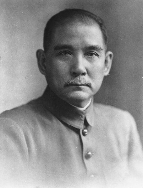 Sun Yat-Sen in the 1910s. (Image: Wikimedia / CC0 1.0)