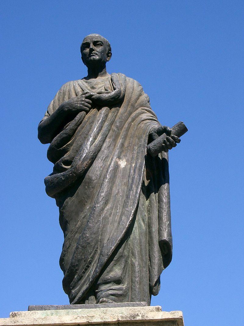 A statue of Seneca in Córdoba, Spain. (Image: PRA via Wikimedia CC BY-SA 3.0)