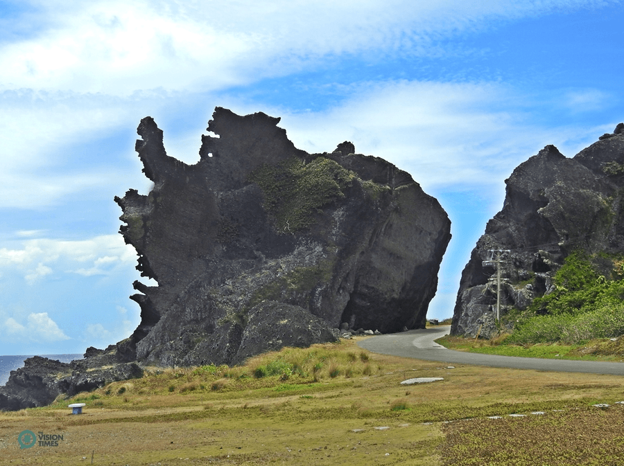 The Dragon's Head Rock (龍頭岩) on Orchid Island. (Image: Julia Fu / Vision Times)