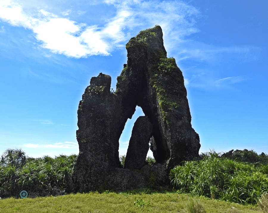 The Jade Girl Rock (玉女岩) on Orchid Island. (Image: Billy Shyu / Vision Times)