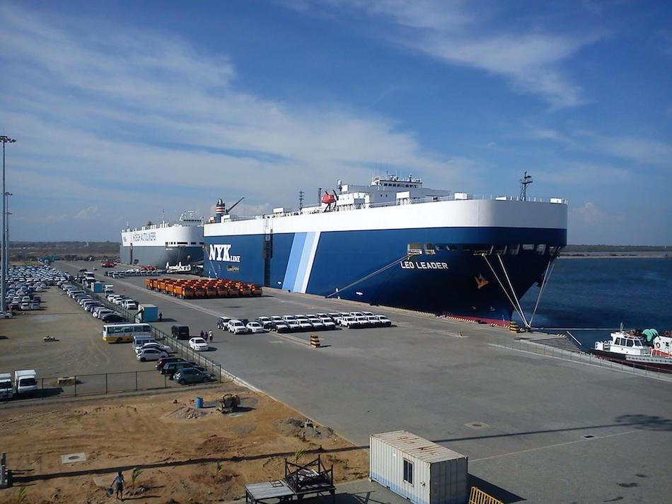 The Sri Lankan port of Hambantota. (Image: Deneth17 / CC BY-SA 3.0)