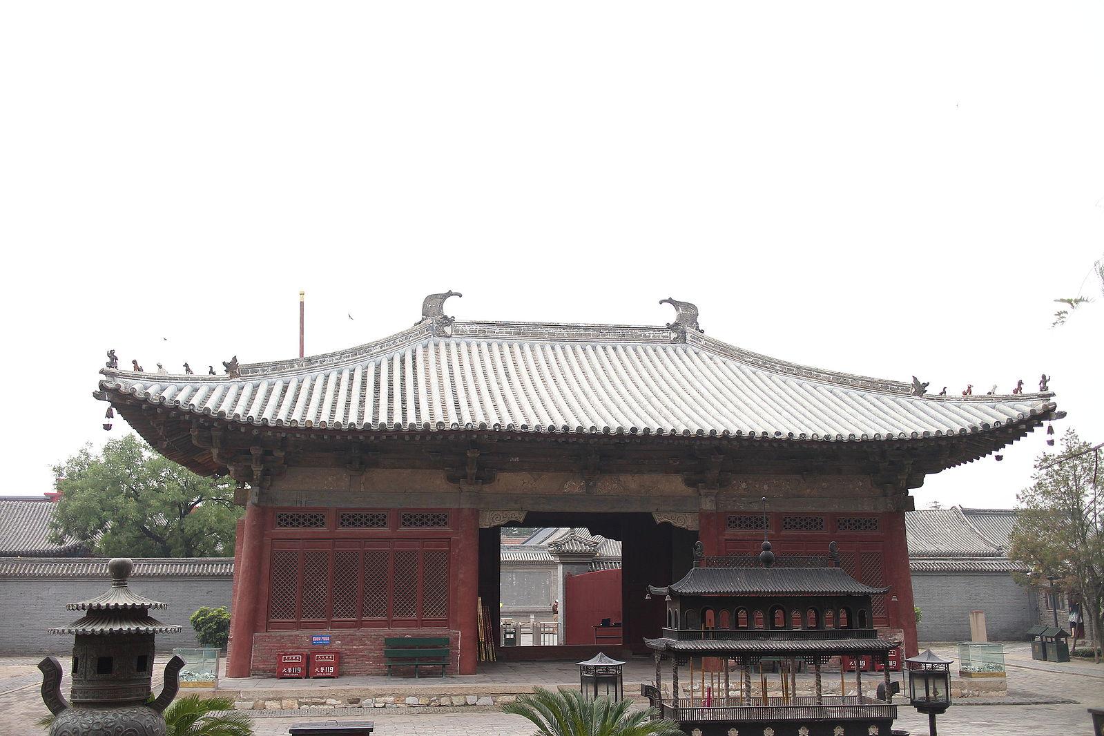 The Shan Gate of the Dule Temple. (Image: Xin via Wikimedia CC BY-SA 4.0)