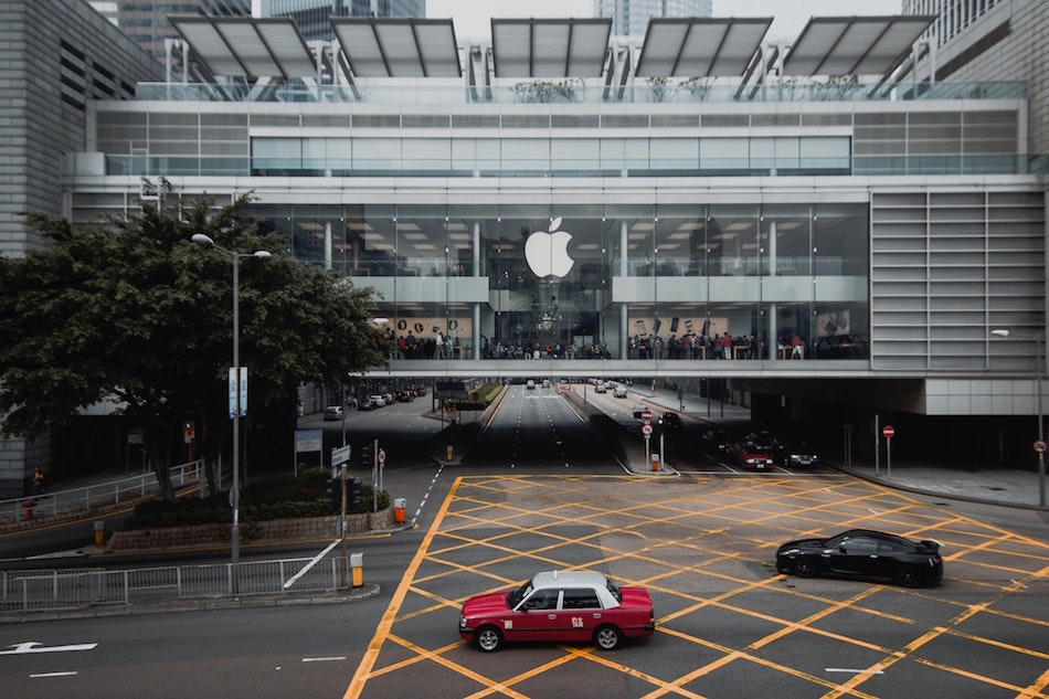 An Apple store in Hong Kong. (Image: Alexandr Bormotin / Unsplash)