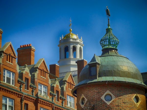 A file image of buildings at Harvard University, Cambridge, Massachusetts. Charles Lieber, chair of Harvard's Department of Chemistry and Chemical Biology, was indicted in June for making false statements to federal authorities about his participation in the Thousand Talents Program. (Image: David Mark/Pixabay)
