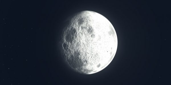 It is possible, say the researchers that the discrepancy between the amount of iron on the Earth's crust and the Moon could be even greater than scientists thought, which pulls into question the current understanding of how the Moon was formed. (Image: via pixabay / CC0 1.0)