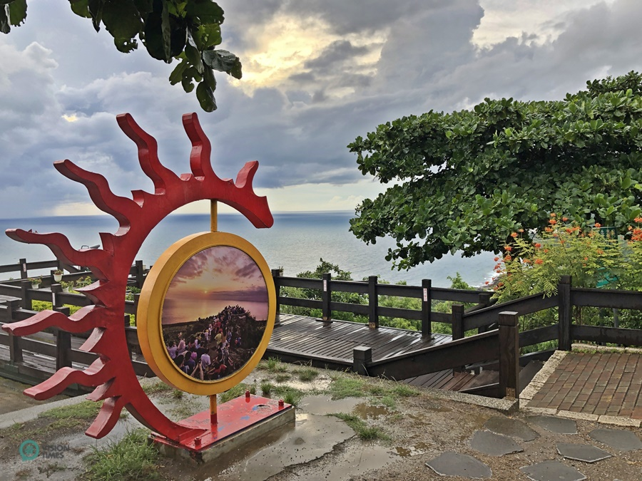 Guanshan is the best place in Kenting National Park for viewing the sunrise or sunset. (Image: Billy Shyu / Vision Times)