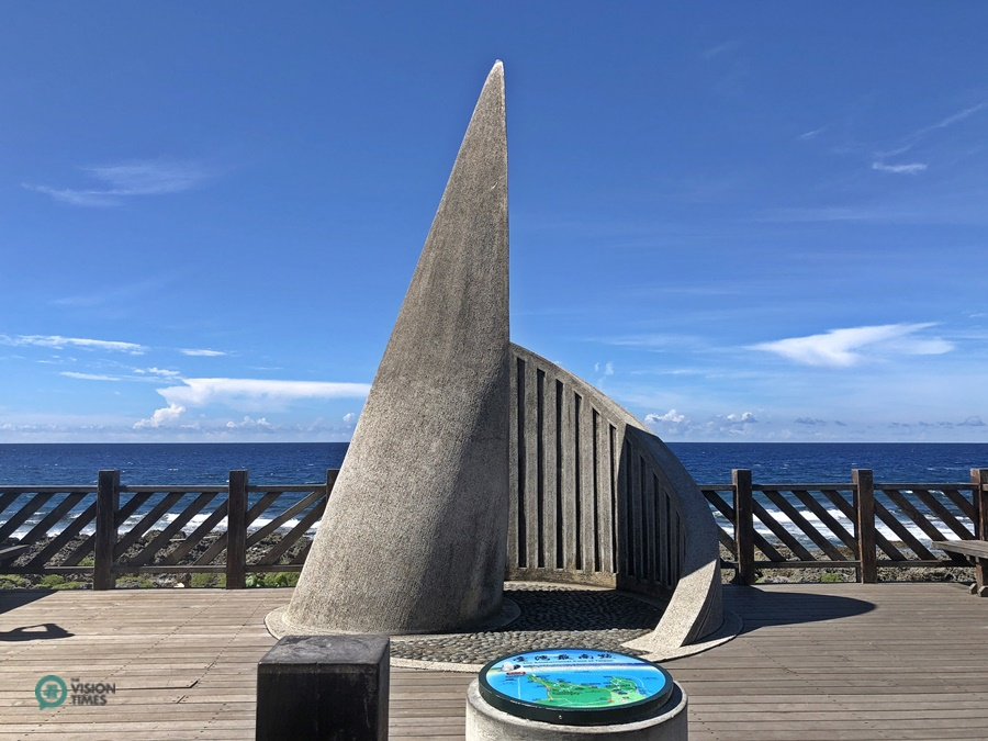 There's a stone marker showing exactly Taiwan's southernmost point. (Image: Billy Shyu / Vision Times)