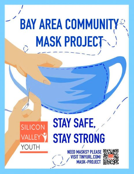 The Bay Area Community Mask Project was initialized by Silicon Valley Youth to help its community fight against the COVID-19 pandemic. (Image: SVY)