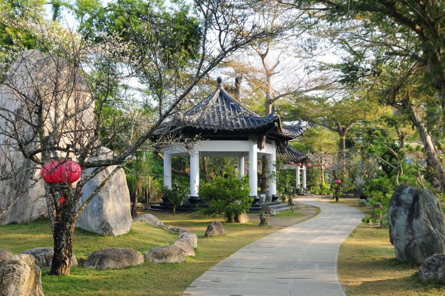 The Trail of Life at Dazhishan Xuankong Temple. (Image: Courtesy of Dazhishan Xuankong Temple)