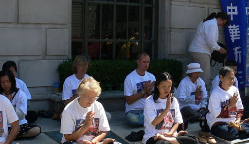 Falun Gong Practitioners in London