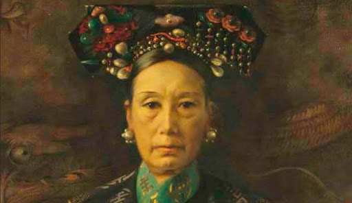 A painting of Empress Dowager Cixi