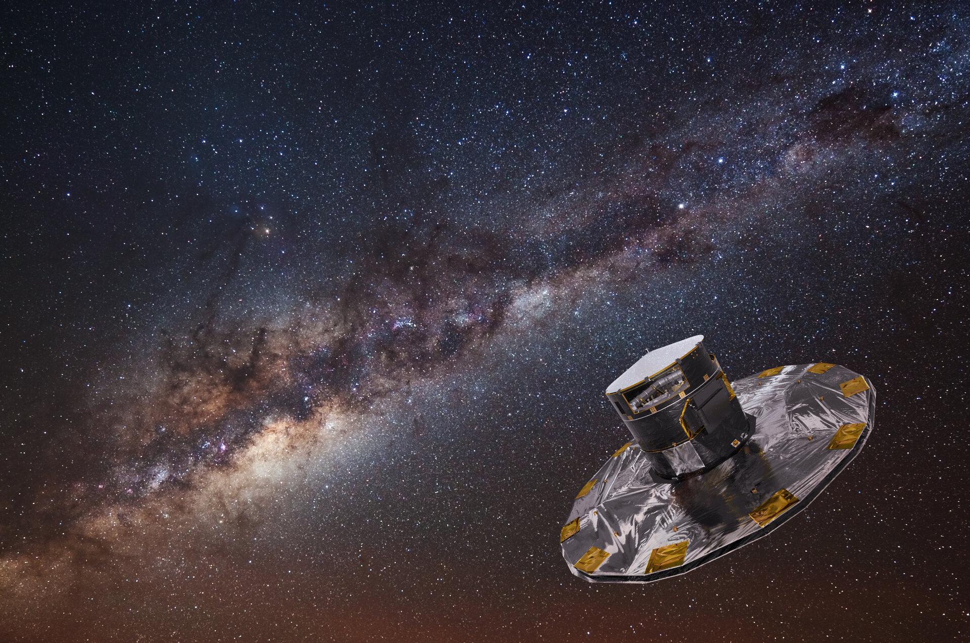 European Space Agency's (ESA) Gaia spacecraft