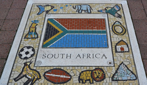South African sport teams emblem.