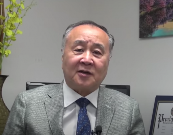 Mr. Yuan stated that the CCP does not represent China and that Hong Kong is part of China and not part of the CCP. (Image: YouTube/Screenshot) (Image: YouTube/Screenshot)
