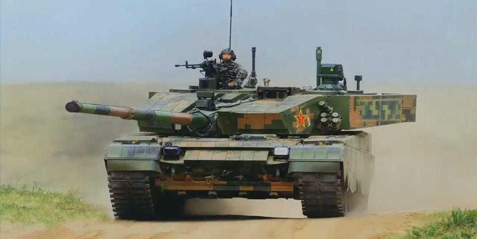 China's type 99 tank.