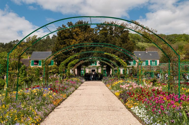Claude Monet's Giverny home and garden in France.