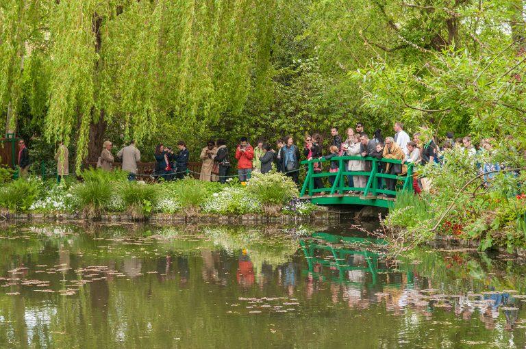 The water garden of Claude Monet.
