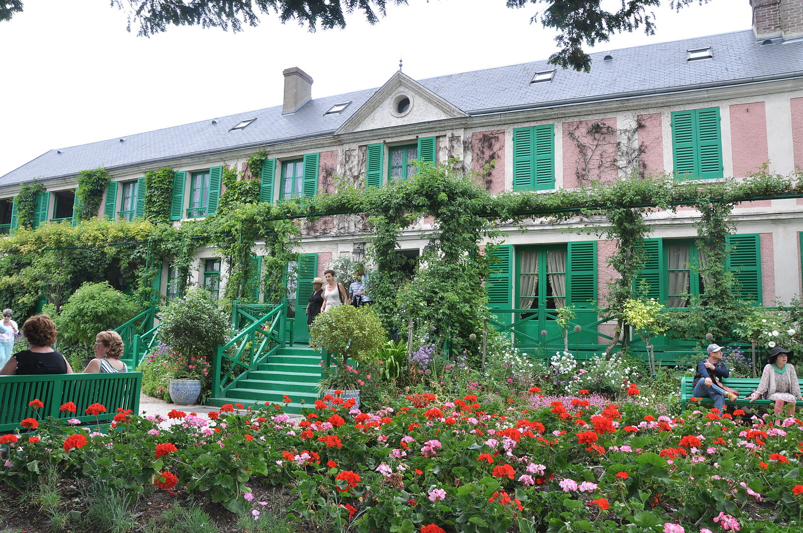 The home of Claude Monet in Giverny, France.