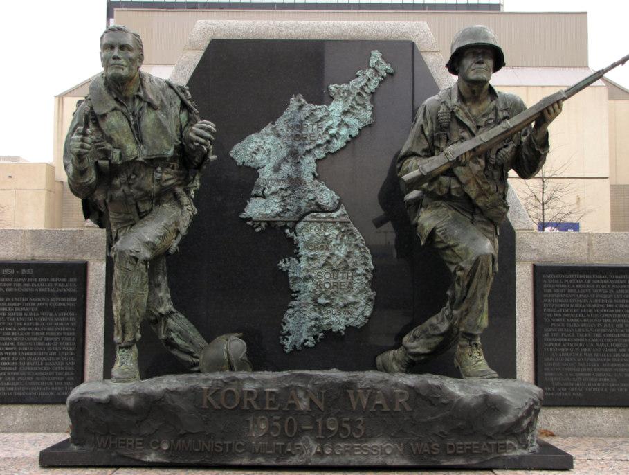 Korean War memorial in Tennessee.