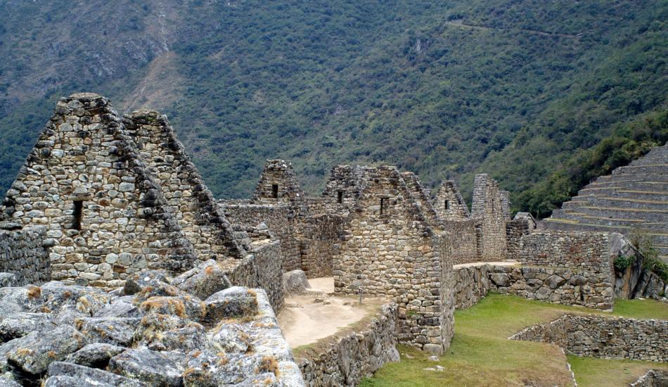 Machu Picchu houses.