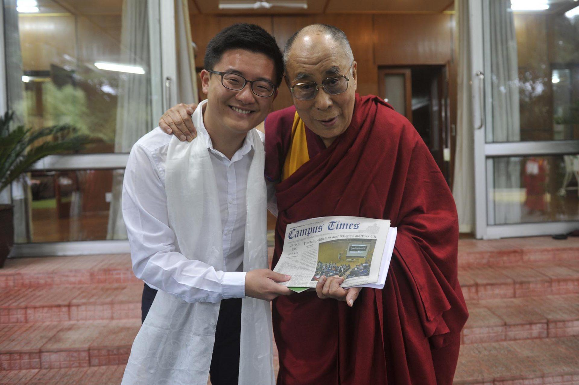 Se Hoon Kim and the Dalai Lama