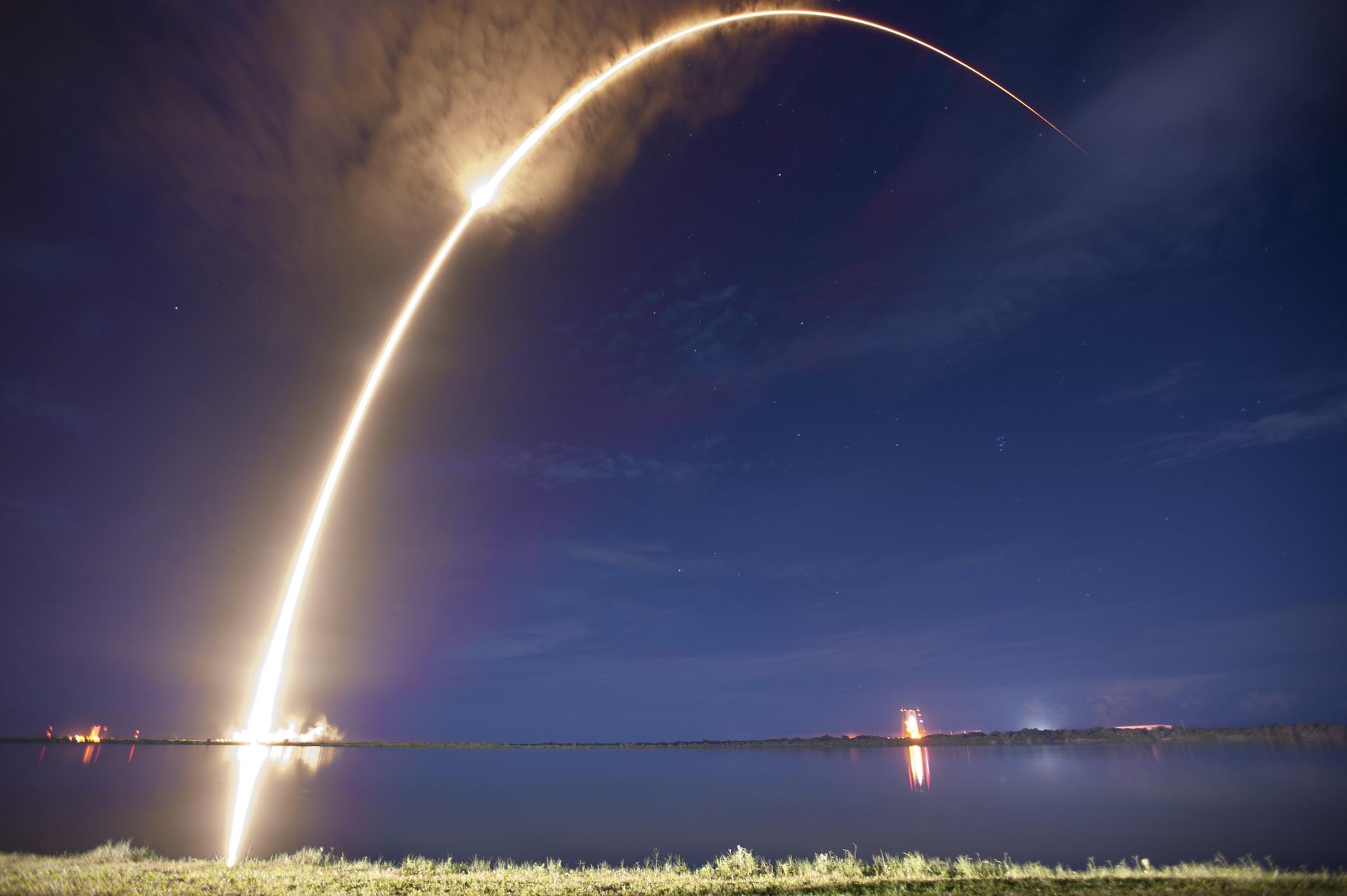 missile in flight