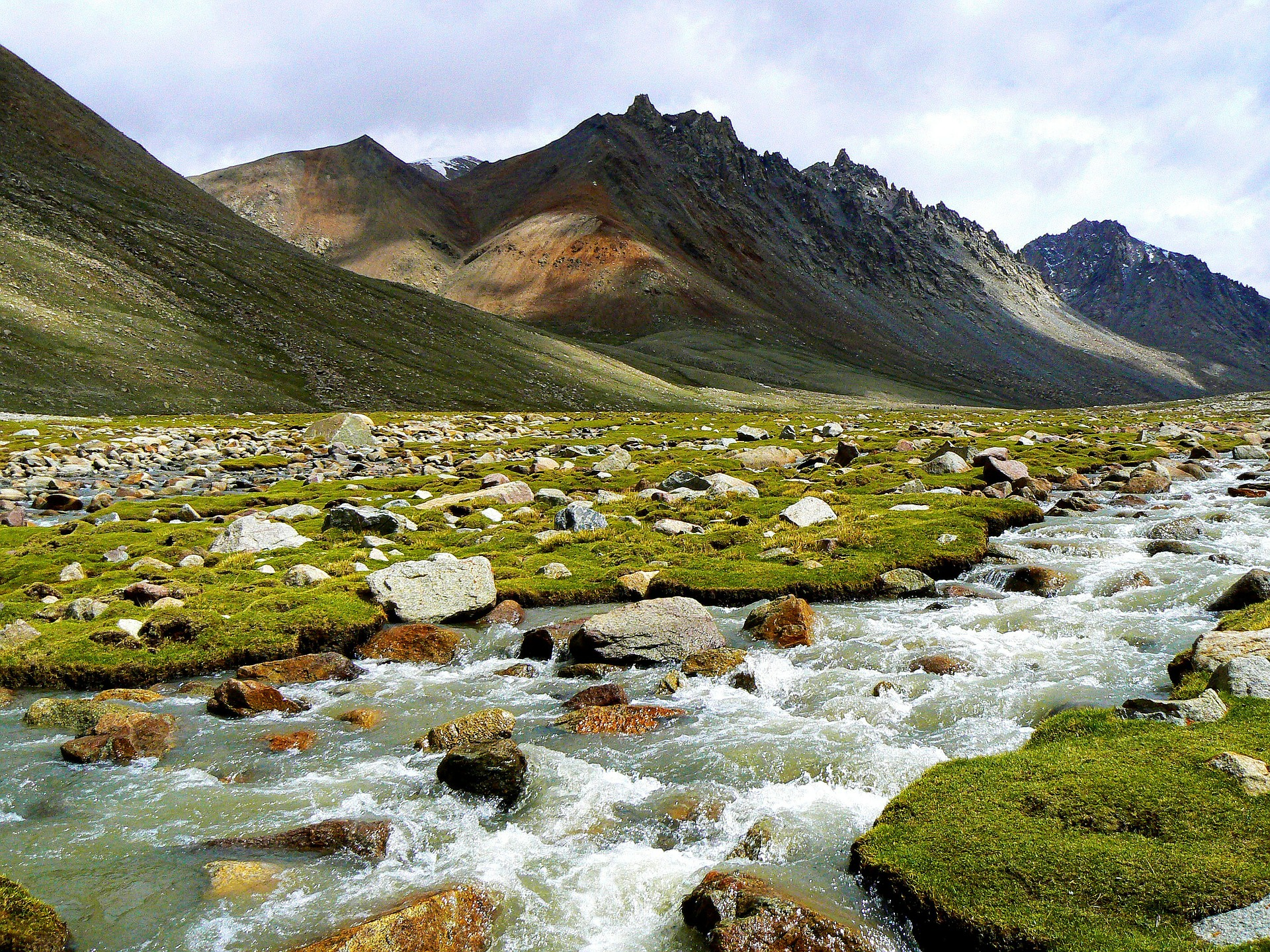River in the Himalayas