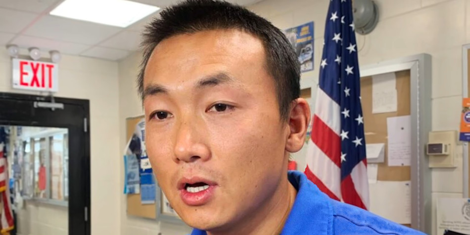 NYPD officer Baimadajie Angwang.